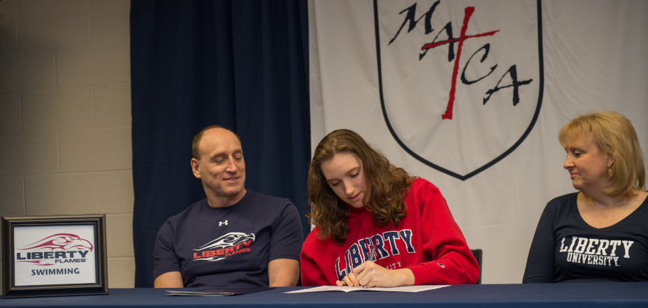 Senior Heather McCorkel Signs NCAA D1 Letter of Intent